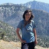 Jen Marlowe on a mountain