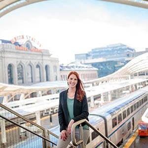 Carly Macias at Union Station Denver
