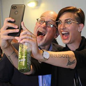 Dan Gilbert Selfie