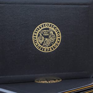 Diploma Cover Close Up