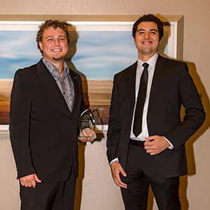 Ian Kellett '13 and Lucas Ortiz MS '16
